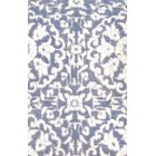 Rayon from Bamboo Hand-Knotted Silk Purple Area Rug