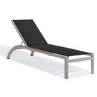 Saleem Armless Reclining Chaise Lounge Color: Cocoa, Frame Color: Tekwood Vintage