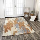 Greco Hand-Tufted Wool Brown Area Rug Rug Size: Runner 2'6