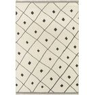 Thompson Appleton Hand-Woven Wool Ivory Area Rug Rug Size: Rectangle 5' x 7'6