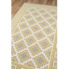 Thompson Brookline Hand-Woven Wool Gold Area Rug Rug Size: Rectangle 7'6