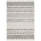 Penwell White Area Rug Rug Size: Rectangle 5'3