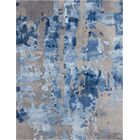 Machen Hand-Tufted Blue/Gray Area Rug Rug Size: Rectangle 2'3