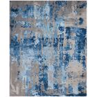 Machen Hand-Tufted Blue/Gray Area Rug Rug Size: Rectangle 7'9