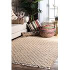 Perlman Hand-Woven Natural Area Rug Rug Size: Rectangle 5' x 8'