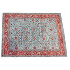 Arlberg Cotton Blue/Red Area Rug