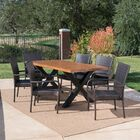 Starrett Outdoor 7 Piece Dining Set