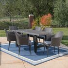 Crocus Outdoor 7 Piece Dining Set with Cushions