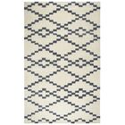 Manwaring Hand-Tufted Wool Ivory Area Rug Rug Size: Rectangle 8' x 10'