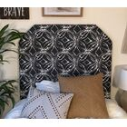 Horrell Beveled Twin/Twin XL Upholstered Panel Headboard Upholstery: Gray