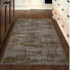 Fosse Umber, Vintage Abstract Brown Area Rug Rug Size: Rectangle 5' x 8'