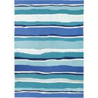 Dao Sea Breeze Blues Hand-Woven Blue Indoor/Outdoor Area Rug Rug Size: Rectangle 3' x 5'