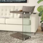 Khloe End Table Color: Weathered Gray