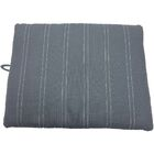 Sleep Zone Durable Pet Pad Bed Color: Gray, Size: 36
