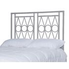 Michelle Headboard Color: Light gray, Size: Queen