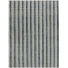 Koleby Striped Hand-Woven Blue Area Rug Rug Size: Rectangle 8' x 10'