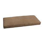 Textured Indoor/Outdoor Sunbrella Bench Cushion Size: 40