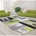 Croskey Abstract Green/Gray Area Rug Rug Size: Rectangle 3'11