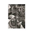 Mahle Gray/Black Area Rug Rug Size: Rectangle 5' x 7.2'