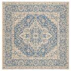Hoover Blue/Beige Area Rug Rug Size: Square 6'7
