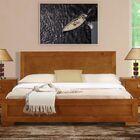 Trent Platform Bed Color: Cherry, Size: Queen