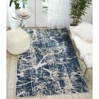Mallery Beige/Blue Area Rug Rug Size: Rectangle 2'2