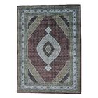 One-of-a-Kind Salmons Mahi Hand-Knotted Red Area Rug Rug Size: Rectangle 10'1