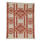 One-of-a-Kind Greear Southwest Motifs Hand-Knotted Rust Red Area Rug Rug Size: Rectangle 8'1