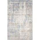 Ramage Abstract Hand-Woven Gray/Blue Area Rug Rug Size: Rectangle 5' x 8'