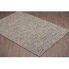Ralls Reversible Hand-Woven Gray Wool Area Rug Rug Size: Rectangle 5' x 8'