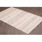 Quillen Hand-Woven Ivory Wool Area Rug Rug Size: Rectangle 8' x 10'
