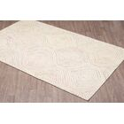 Quinney Hand-Woven Ivory Wool Area Rug Rug Size: Rectangle 5' x 8'