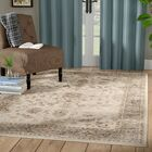 Tuller Stone & Mouse Oriental Ivory Area Rug Rug Size: Rectangle 5'3