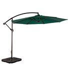 Karr 10' Market Umbrella Fabric Color: Dark Green