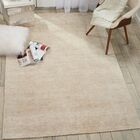 Romans Solid Hand-Tufted Linen Area Rug Rug Size: Runner 2'3