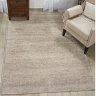 Romans Solid Hand-Tufted Oatmeal Beige Area Rug Rug Size: Rectangle 9'6