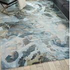 Makin Abstract Hand-Tufted Gray/Slate Area Rug Rug Size: Rectangle 3'9