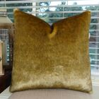 Waggoner Luxury Sable Mink Faux Fur Pillow Size: 24