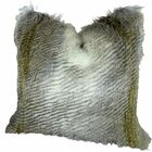 Montero Alaskan Hawk Faux Fur Pillow Fill Material: Cover Only - No Insert, Size: 20