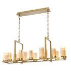 Hoerner 12-Light  LED  Pendant Finish: Brass