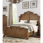 Zangerl Carved Panel Bed Size: Eastern King, Color: Light Brown