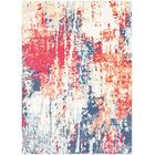 Raminez Abstract Navy/Red Area Rug Rug Size: Rectangle 9' x 13'1