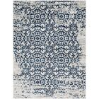 Ranck Distressed Taupe/Navy Area Rug Rug Size: Rectangle 7'10