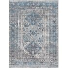 Ranck Distressed Vintage Sky Blue/Gray Area Rug Rug Size: Rectangle 7'10
