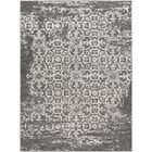 Ranck Distressed Taupe/Ivory Area Rug Rug Size: Rectangle 5'3