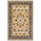 Ryals Hand-Knotted Wool Burnt Orange/Yellow Area Rug Rug Size: Rectangle 2' x 3'