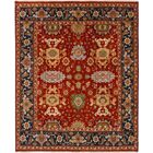 One-of-a-Kind Doerr Hand-Knotted Wool Red Area Rug