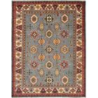 One-of-a-kind Doering Hand-Knotted Wool Gray Area Rug