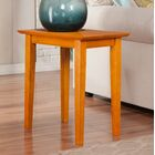 Oliver End Table Color: Caramel Latte