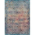 Binstead Modern Vintage Blue/Yellow Area Rug Rug Size: Rectangle 7'10